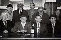 "Annual competition for the ""Old Boys"" who frequented the domino tables at Maybole's Carnegie library."