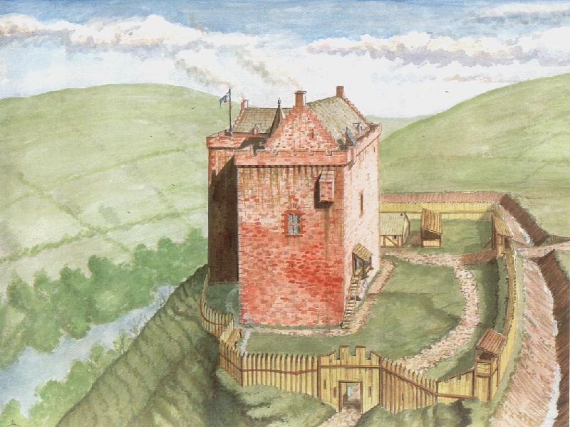 Home ideas for Scottish castle house plans