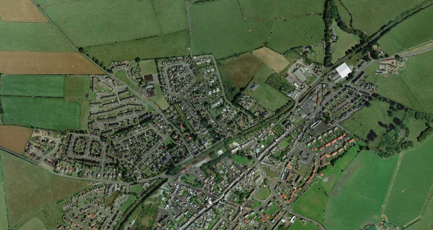 Aerial Views of Maybole